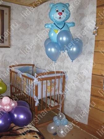 Украсить комнату при рождении ребенка своими руками 97